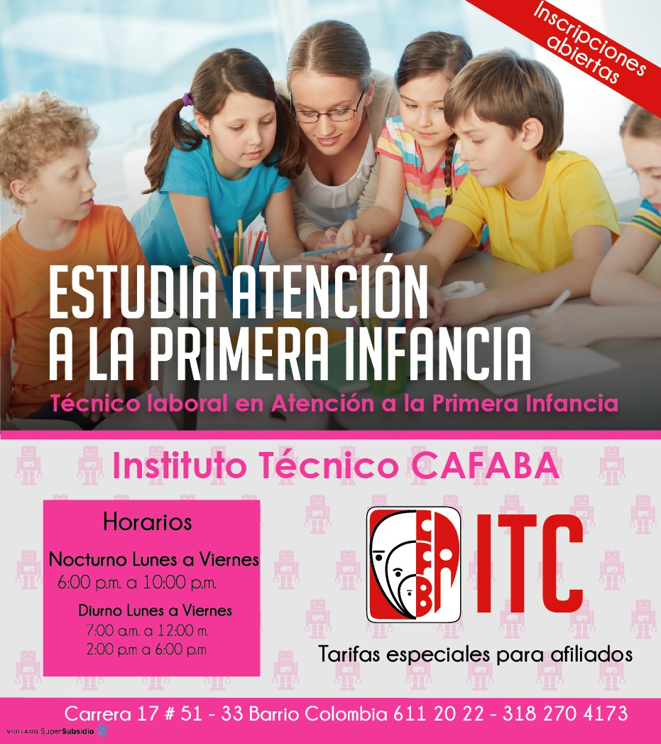 Plantilla ITC Atencion infancia